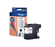 Brother LC223BK Cartuccia InkJet Originale Alta Capacità, fino a 550 Pagine, per Stampanti MFCJ4420DW, MFCJ4620DW, MFCJ5320DW, MFCJ5620DW, MFCJ5720DW, DCPJ562DW, MFCJ480DW, MFCJ680DW, Nero