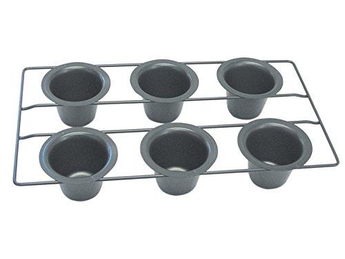 R&M International 2391 Non-Stick 6-Cup Popover Pan