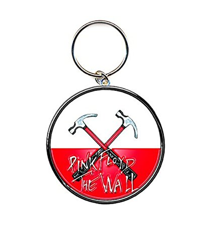 Pink Floyd The Wall Hammers Logo new Official metal Keychain Keyring