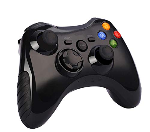Mandos para PC, Anpreme Mandos inalámbrico PS3 Gaming Controller Bluetooth Gamepad Wireless Compatible con PS3 PC Smartphone Android et iOS Gamepad Wireless para PC Windows 10/8/7/Vista, Smart TV, TV Box
