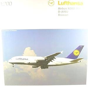 Herpa 550727-004Lufthansa Airbus A380-800, avión