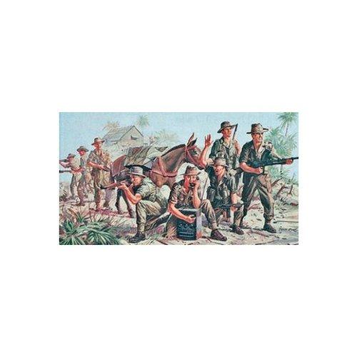 Revell - 02529 - Infanterie Ancazs Wwii - Model Kit 1:76