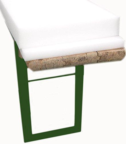 2er Set Schaumstoff Auflage Sitzpolster Bierbankauflage Bierbank 220 cm Bierzeltgarnitur wahlweise mit 2 oder 5 cm