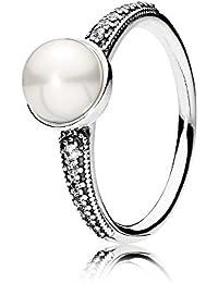 Pandora Women Vermeil Ring - 180945CZ-54 qPSEf
