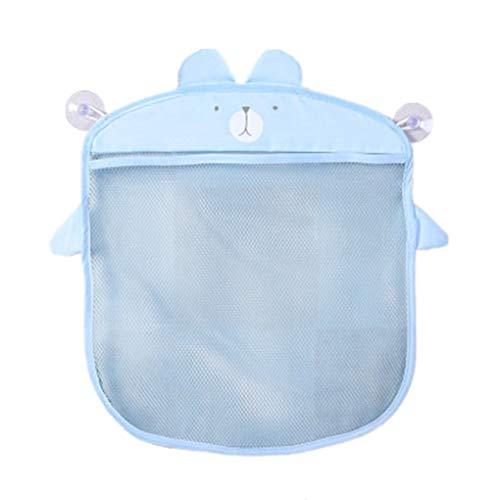 Diamoen Cartoon Wandbehang Badezimmer-Speicher-Beutel gestrickte Netz-Ineinander greifen-Tasche Baby-Bad-Spielzeug Shampoo-Organisator-Behälter (Hängende Dusche Caddies)