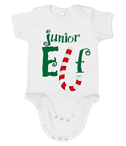 Kostüm Baby Grinch (Artdiktat Baby Organic Bodysuit - Strampler - Junior Elf Größe 76/86,)