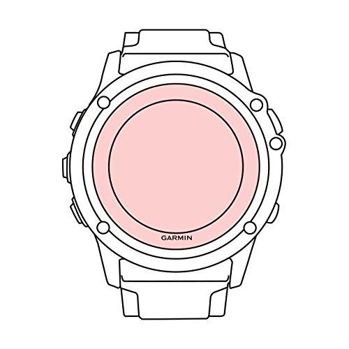 Martin Fields Overlay Plus-Bildschirmschutz mit erweiterter Glashärteschicht für Garmin (Fenix 3 HR / 3) -