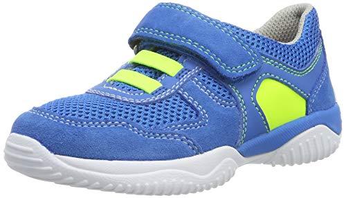 Superfit Jungen Storm Sneaker, Weiß (Blau/Gelb 81), 31 EU