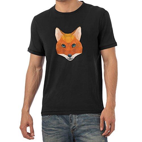 TEXLAB - Poly Mr. Fox - Herren T-Shirt Schwarz