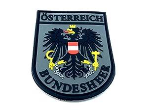 Österreich Bundesheer Autrichienne Armée Airsoft PVC Patch