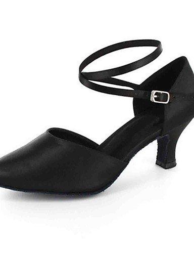 La mode moderne Sandales femmes personnalisables Chaussures de danse en similicuir similicuir/latin/Salsa moderne sur mesure pratique Talon talons noir/rouge/Autres US10.5/EU42/UK8.5/CN43
