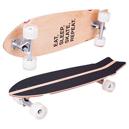 HUDORA Longboard Pumpking ABEC 7 - Skateboard, 12828