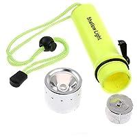 LED Submarine Light Diving Flashlight Underwater Torch Waterproof CREE Q5 Flash Light Lamp GH8433