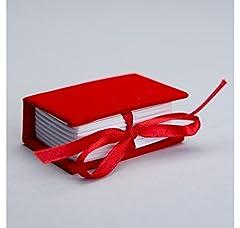 Idea Regalo - Confezione 24 pezzi, Bomboniera scatola, LIBRO in cartoncino vellutato, cm 6X4x2.5, LAUREA, per segnaposto, portaconfetti. (ck7006)