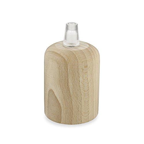 CD Cables - Kit cylindre avec douille E27, en bois de hêtre