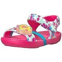 Crocs Baby Girls Lina Lights Sandal K Flat