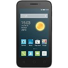 "Alcatel Onetouch Pixi 3 - Smartphone libre Android (pantalla 4"", cámara 3 Mp, 4 GB, Dual-Core 1 GHz, 512 MB RAM), negro"