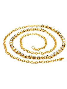 Bindhani Gold Plated Strand Kamar Bandh For Women -Gold