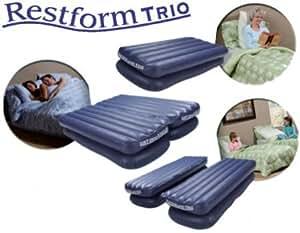 Restform Air Bed TRIO - 3 lits pour le prix d'1