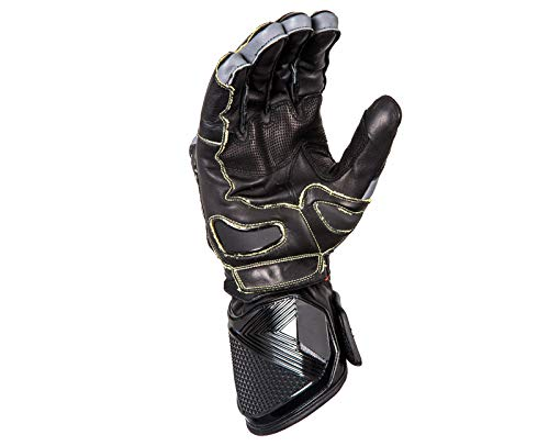 Seventy degrees GLOVE SD-R30 SUMMER RACING MAN BLACK/YELLOW L