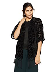 ONLY Womens Blouson Coat (15124593_Black_36)