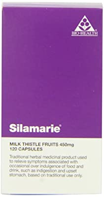 Bio Health Silamarie Milk Thistle Capsules 450mg Pack of 120 from Bio-health