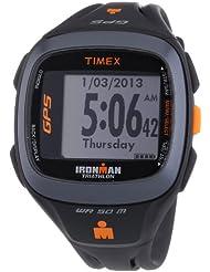 Timex - T5K742HE - Ironman Run Trainer 2.0 - Montre GPS Homme - Bracelet Résine - Alarme/Chronomètre - Moniteur de fréquence cardiaque