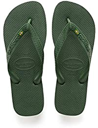 Amazon.co.uk  Green - Flip Flops   Thongs   Men s Shoes  Shoes   Bags 84a66cf3116