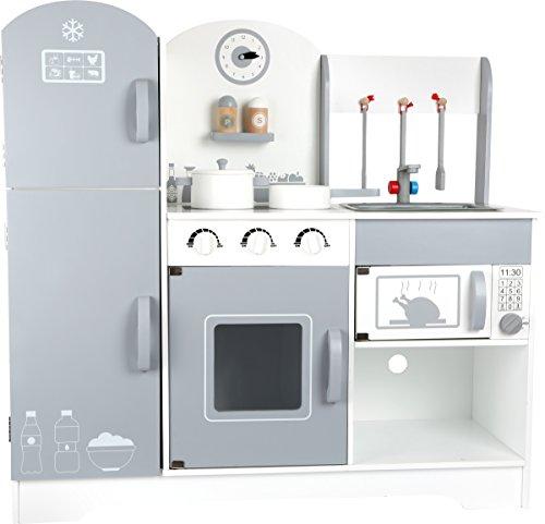 Cocina de jugar con frigorífico