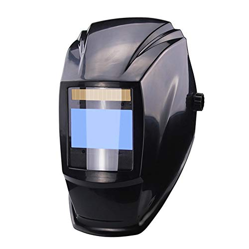 Automatischer Schweißhelm mit 4 sensitiven Sonden Anti-Spritzer Solar Maske Helm mit 1200mAh Lithium-Akku für Bogenschweißschweißer -10° C ~ 65° C -