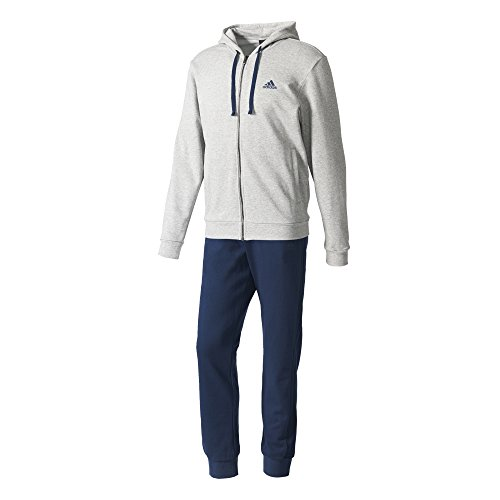 adidas CO Energize TS Survêtement pour homme, Bleu (Maruni / Blanc), 192S Medium Grey Heather/Collegiate Navy