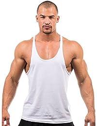 Hengsong Homme-Débardeur ,Aptitude, Sport Sans Manches tops T-Shirt 7 Couleurs