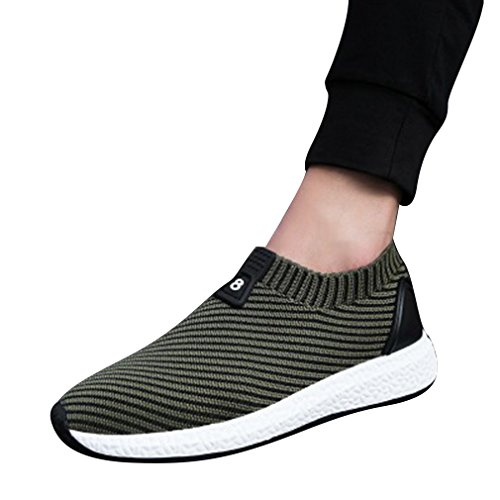 Hibote Herren Damen Turnschuhe Atmungsaktiv Mesh Sportschuhe - Unisex Sneaker Leicht Laufschuhe Freizeitschuhe Arbeitsschuhe 39-44