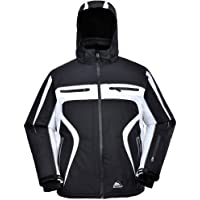 COX SWAIN TITANIUM Men 3-Layer Ski & Snowboard Jacket Finley with RECCO and 15.000mm waterproof