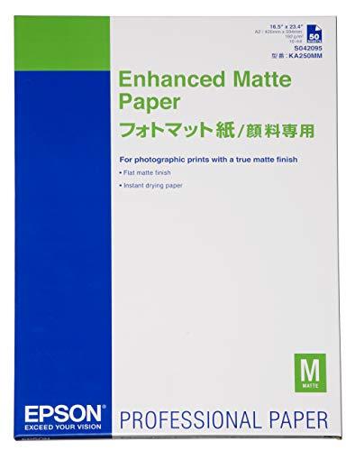 Epson Enhanced Matte Paper, DIN A2, 192g/m2, 50 Blatt