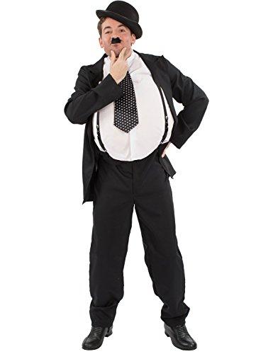 Herren Oliver Hardy Stan Laurel Film Karneval Verkleidung Kostüm Extra (Kostüme Filme Für)