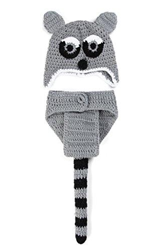 Smile YKK 1 Paar 0-6 Monate Baby Unisex Strick Kleider Tier Muster Baby Foto-Shooting Koala (Baby Kostüme Koala)