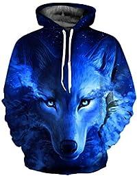 GERI AND FREKI HOODIE HOODED SWEATSHIRT Odhins Wolves Odin Wolv Vikings Wulf