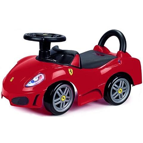 Feber - Ferrari F430, coche correpasillos de color negro y rojo