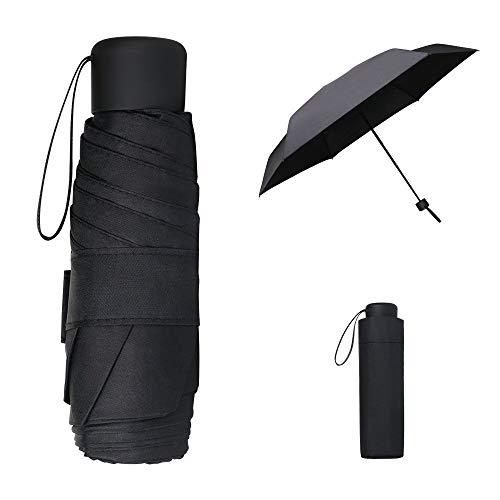 Vicloon Parapluie Pliant,Parapluie de Soleil & Parapluie de Voyage & Mini Parapluie de Poche, Léger et Compact Résistant au Vent Parapluie,Idéal pour Diverses Activités de Plein A