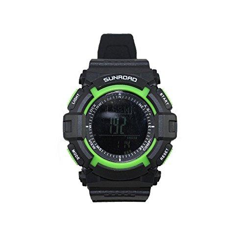 Docooler 3ATM Waterproof Altimeter Compass Stopwatch Barometer Pedometer Outdoor Sports Watch Multifunction