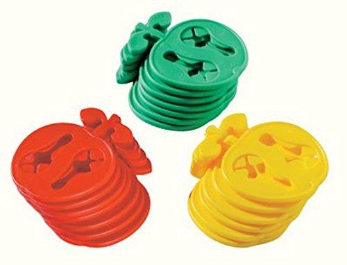 """Produktbild Socken - Clips """"Apfel"""",  20 Stück"""
