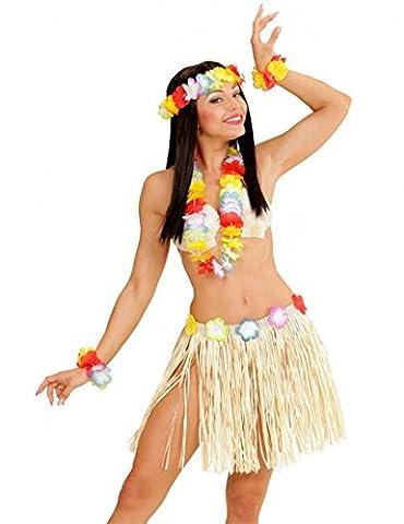 Hawaï Kostüm-Set für Erwachsene in rosa