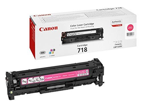 Preisvergleich Produktbild Canon Original Laser Tonerkartusche 718 Magenta