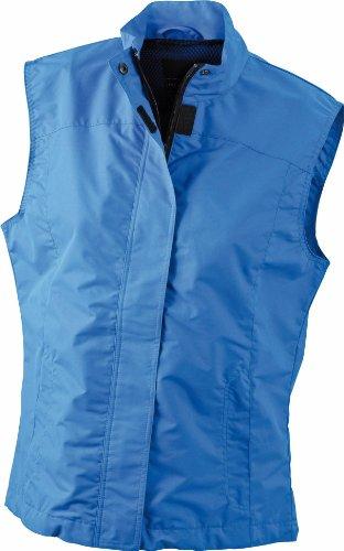 James & Nicholson - Manteau sans manche - Femme Bleu - Blue - Azur
