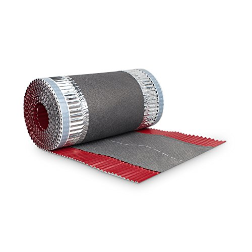 BMD Firstrolle Gratrolle 300 mm x 5 lfm. rot (RAL 3011) Firstband Gratband Rollfirst Grat First