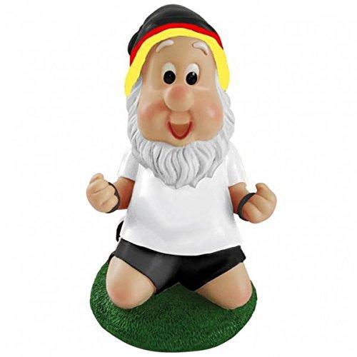 EM Gartenzwerg mit Deutschland Mütze