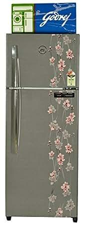 Godrej 261 L 3 Star Frost-Free Double Door Refrigerator (RT EON 261 P 3.4, Silver Meadow)