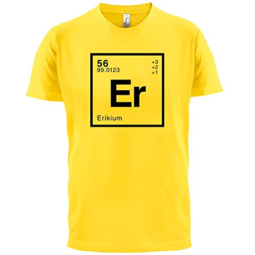 Erik Periodensystem - Herren T-Shirt - 13 Farben Gelb