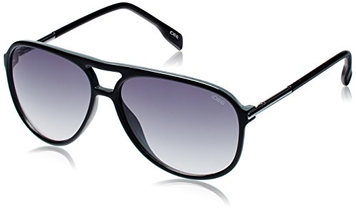 IDEE Aviator Sunglasses (IDS1897C3SG|59|Black and Grey ) image